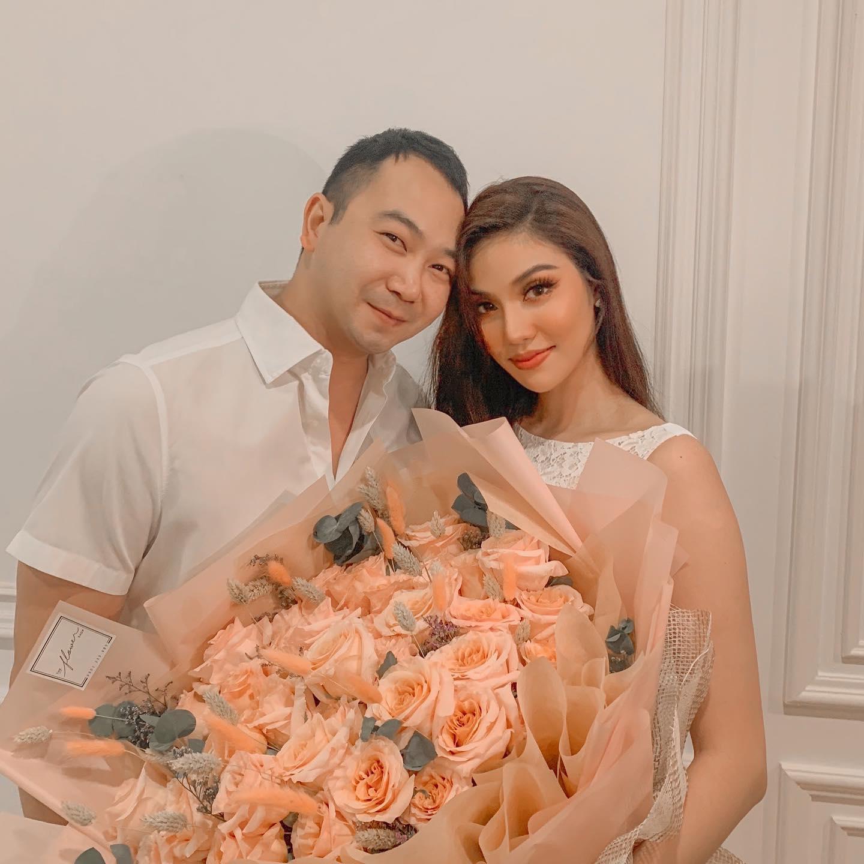 Kỷ niệm 2 năm ngày cưới ông xã Lan Khuê dành những lời ngọt ngào cho vợ - ảnh 1