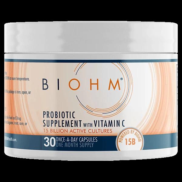 Пробиотическая добавка BIOHM с витамином C