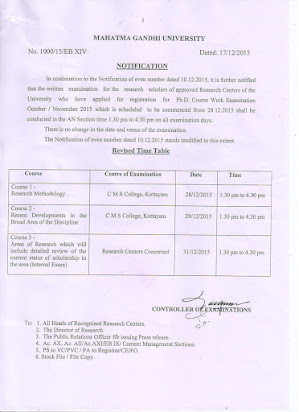 Mg university phd coursework hall ticket