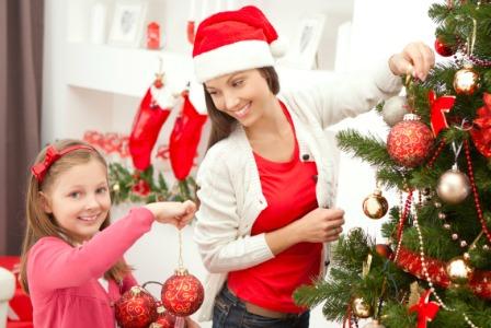 zdobenie vianocneho stromceka