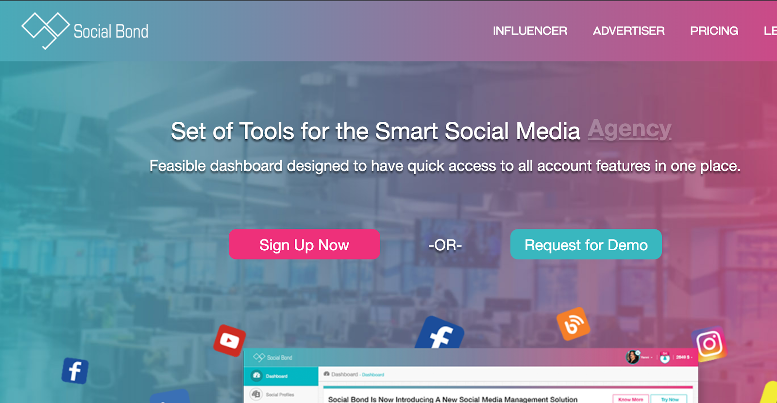 Social Brand - Advanced Influencer Marketing Platform