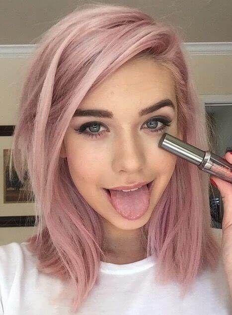 Trend Alert Rose Gold Hair Hair Plus