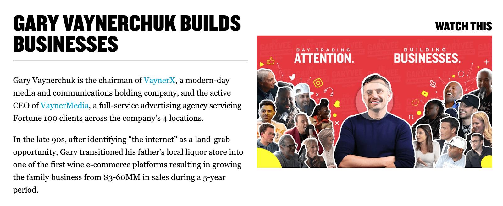 Gary Vaynerchuck | CEO of VaynerMedia