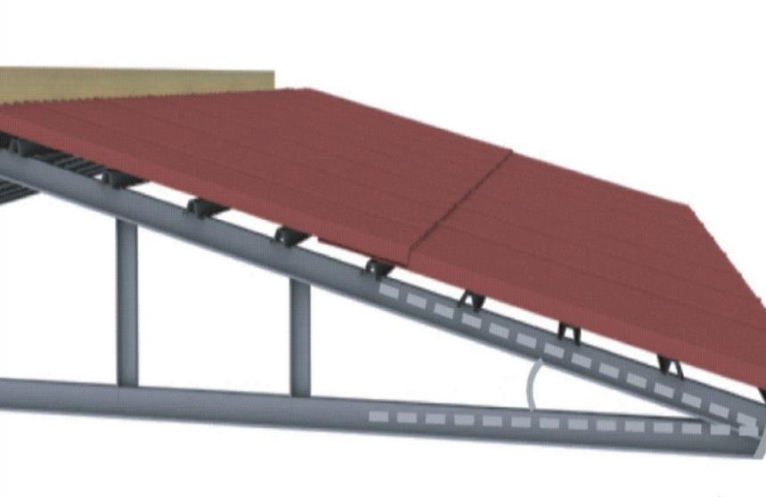 Độ dốc quyết định khả năng thoát nước của mái nhà