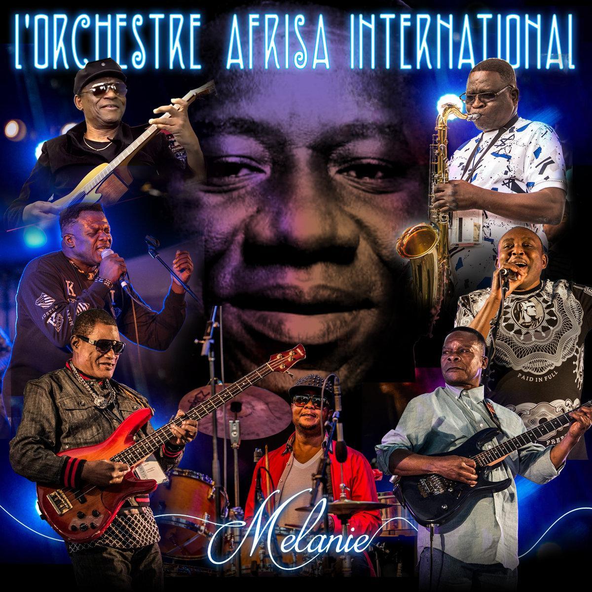 Image result for melanie l'orchestre afrisa international