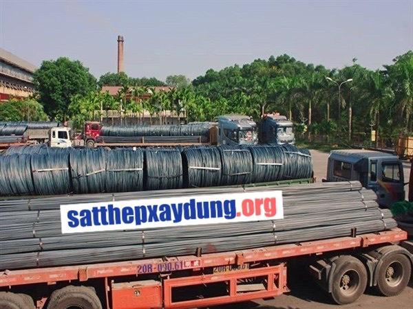Thép vòng và thép vằn được sản xuất số lượng lớn để phục vụ xây dựng