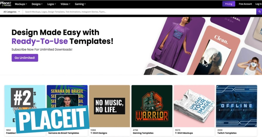 Placeit offers heaps of templates and customization to help you create a high quality video intro