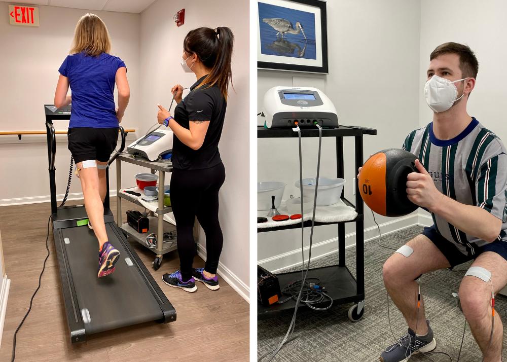 More training with NEUBIE at Virginian Rehabilitation and Wellness