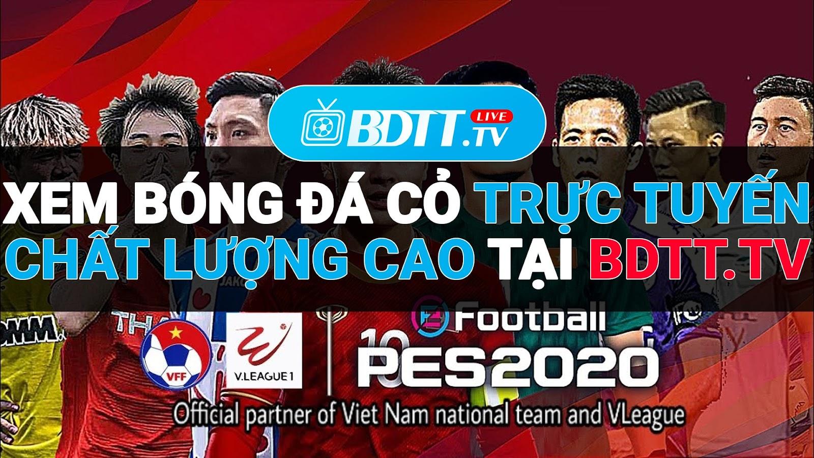 BDTT.tv - Xem trực tiếp bóng đá miễn phí chất lượng cao, là kênh giúp bạn xem được nhiều trận bóng đá được cập nhật 24/7 hằng ngày, kể cả những đấu bóng đá cỏ cũng luôn được kênh BDTT.tv cập nhật cho người xem nhanh chóng và tức thì nhất với hình ảnh sắc nét, âm thanh sôi động, không lag, không mờ, chất lượng hình ảnh full HD 100%.