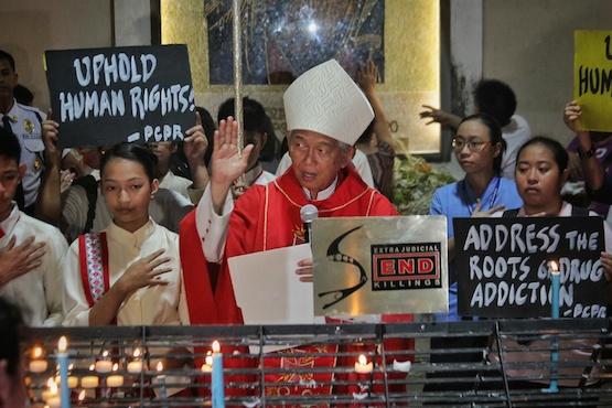Bishop tells Duterte to hunt killers of drug addicts