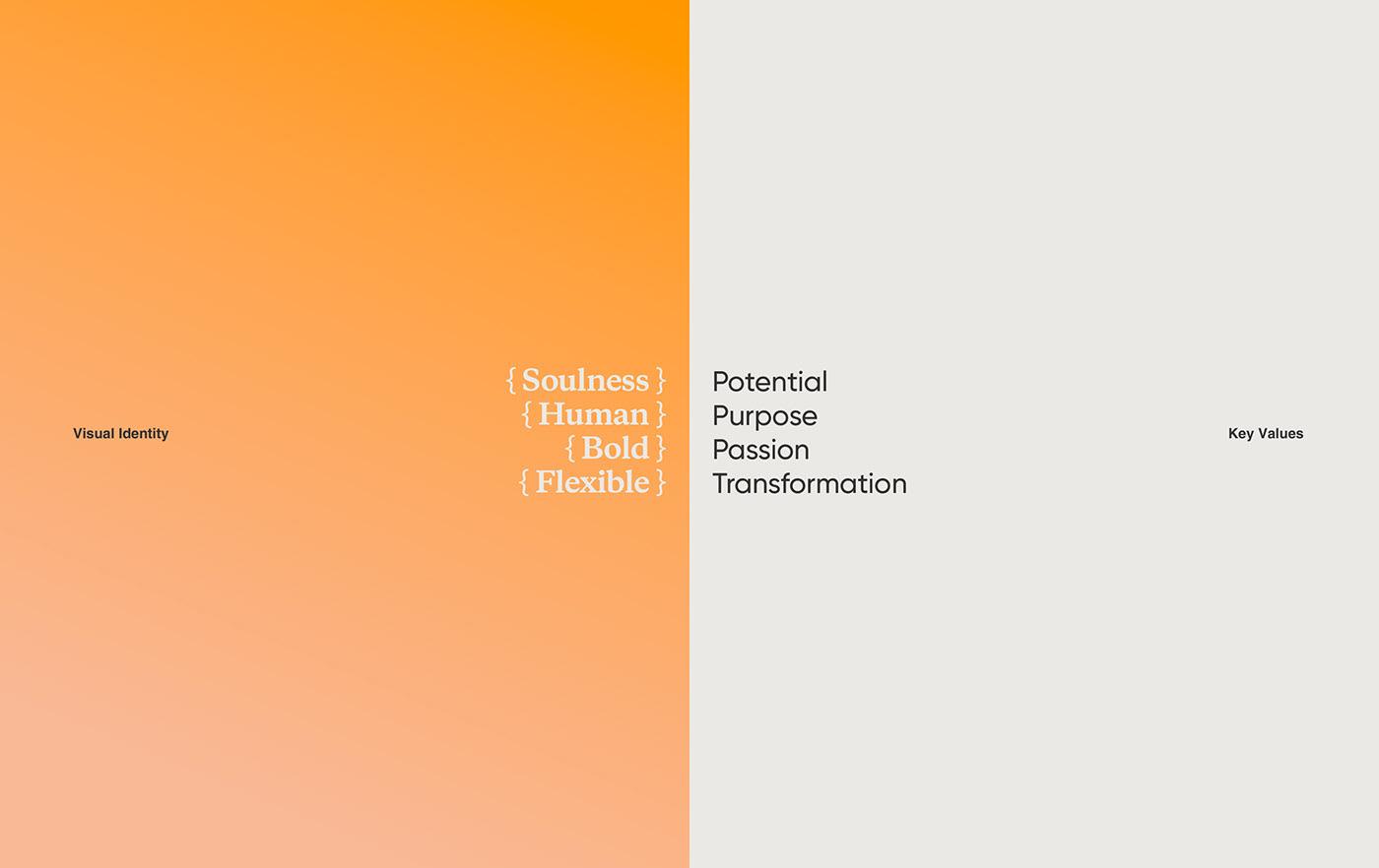 actual agenda color identity millenial modern orange potential visual identity Young