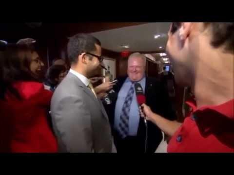 """Mayor Rob Ford asked about weed - """"I'VE SMOKED ALOT OF IT"""""""