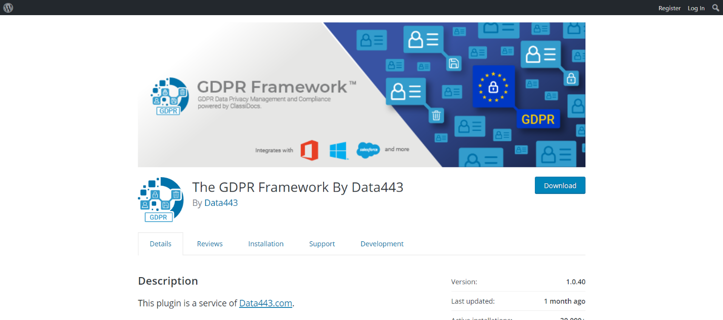 The GDPR Framework By Data443