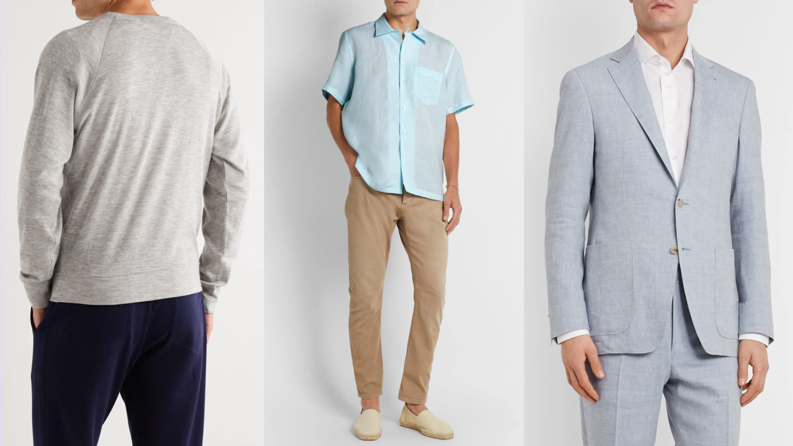 Shop luxury men's apparel from Mr. Porter