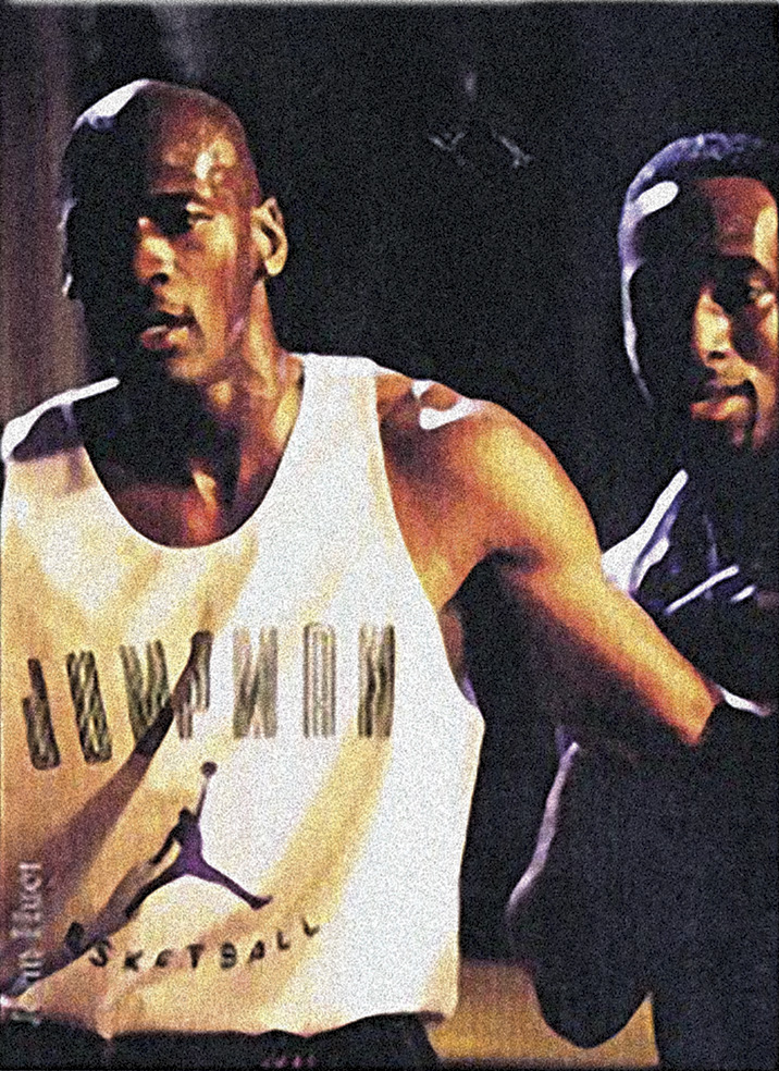 Michael Jordan and Willie Briscoe