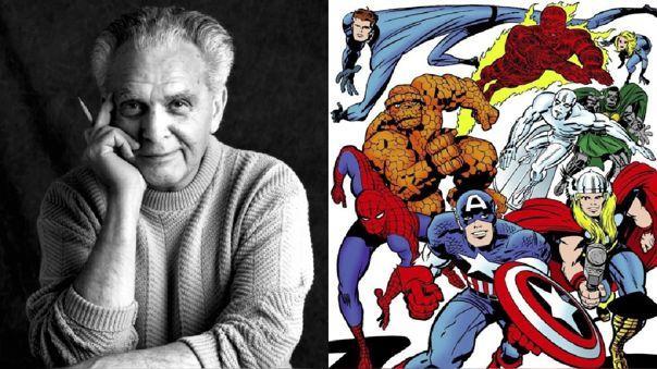 Marvel: Jack Kirby y sus más grandes aportes a la Casa de las Ideas |  Capitán América | Los cuatro fantásticos | Avengers | Los Eternos | RPP  Noticias