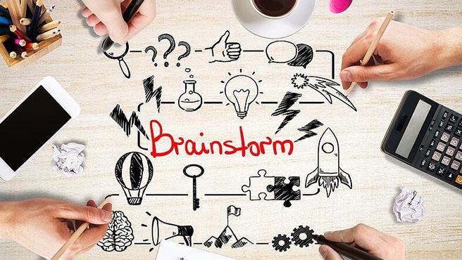brain storm کردن برای انتخاب اسم