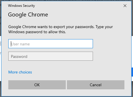 How to Import and Export Passwords in Chrome 5