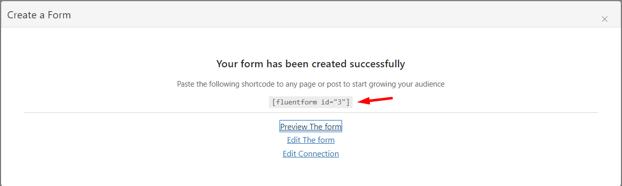 creating an email subscription form in wordpress using fluentcrm