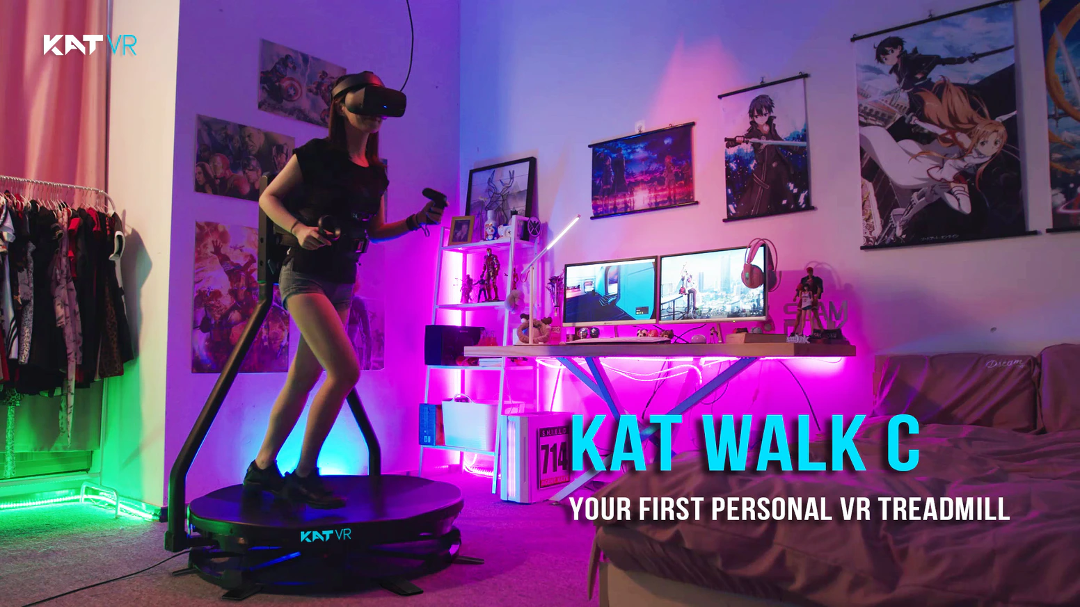 Consumer VR Treadmills Still Aren't A Thing, But Kat VR Is Giving It A Go Anyway
