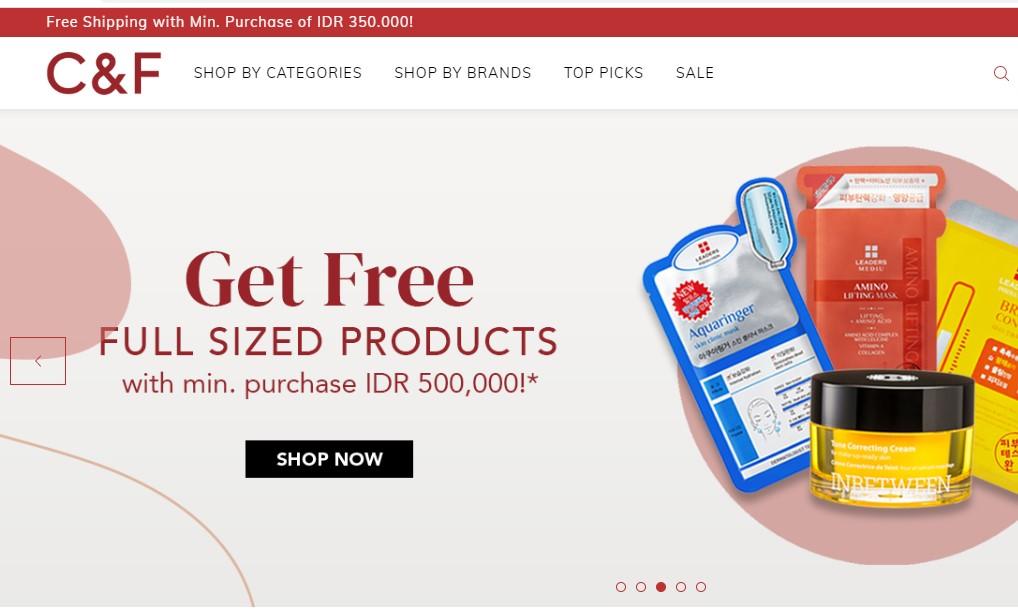 E-Commerce CnF Store