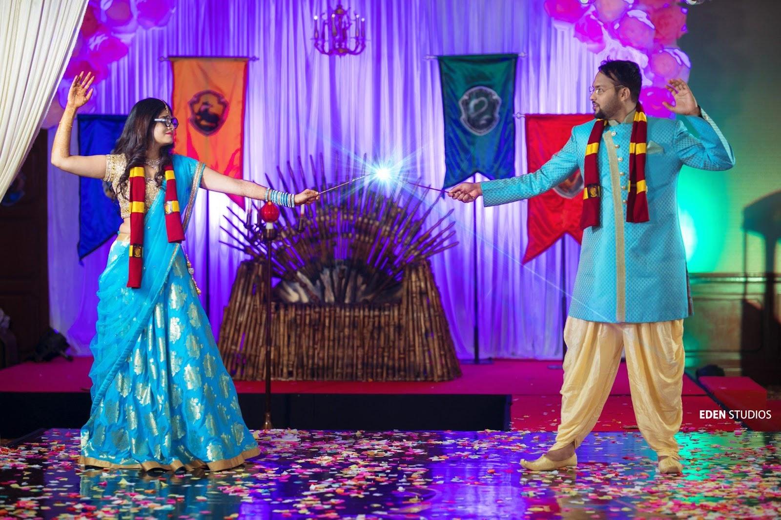 Function Mania   Sangeet Themes  Wedding Themes  Harry Potter Theme  Hollywood Sangeet Night  Wedding Inspiration  Sangeet Night  Wizard Sangeet Theme