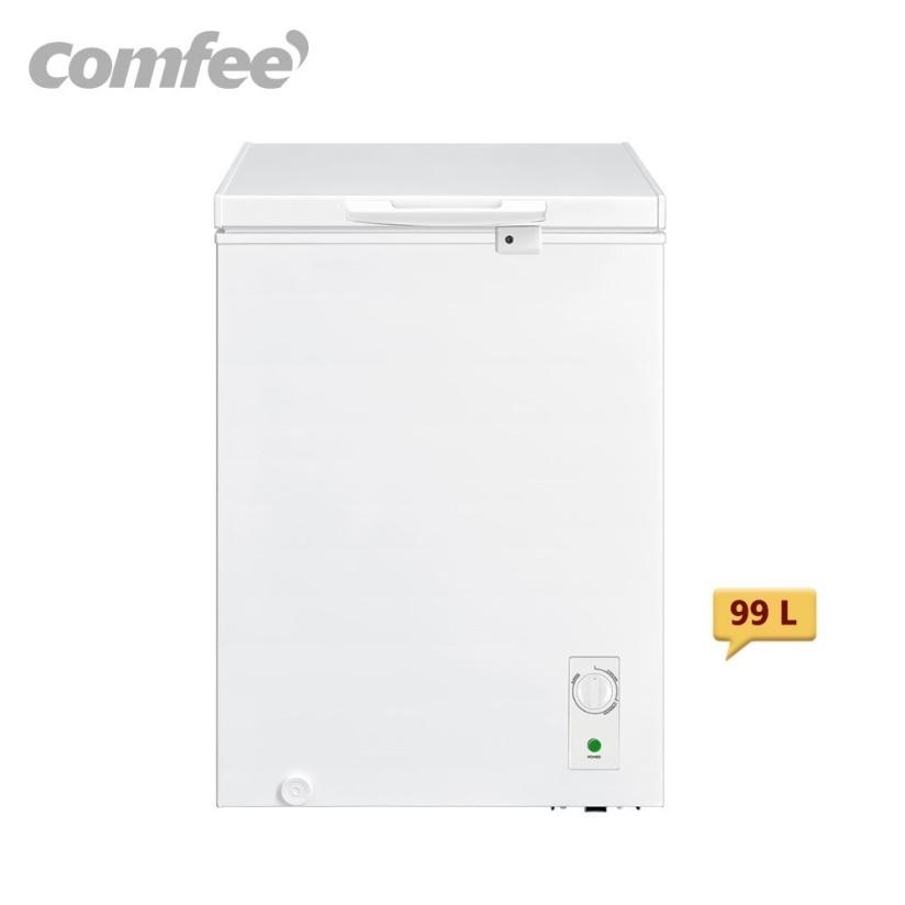7. ตู้แช่นม Comfee Freezer รุ่น RCC142WH1