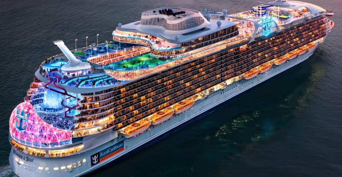 Latest Construction Photos of Royal Caribbean's Wonder of the Seas