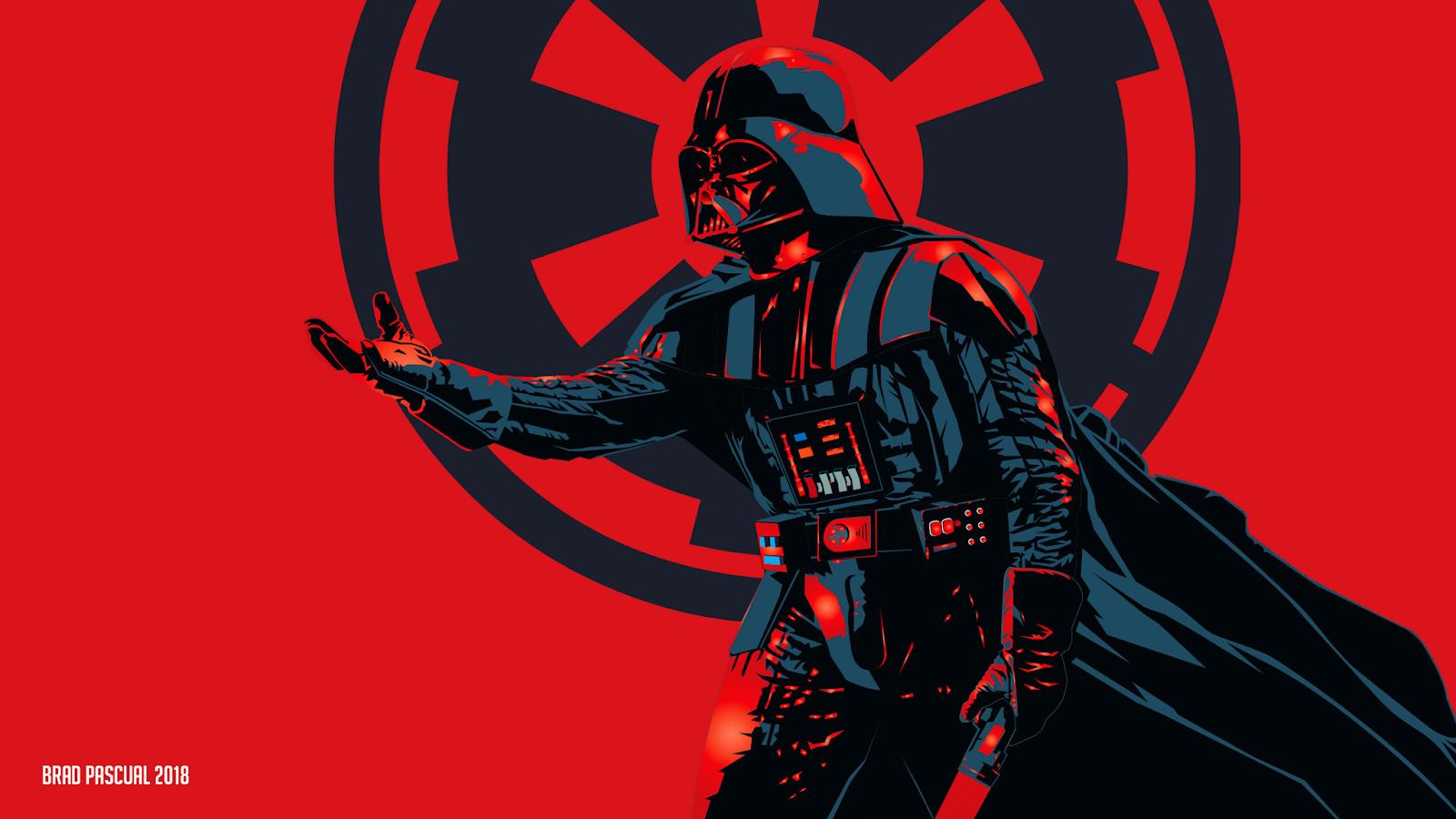 Fantasy Wallpaper - Vader by Brad Pascual