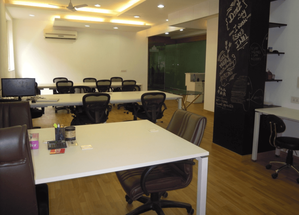 NQube Coworking Space in Noida
