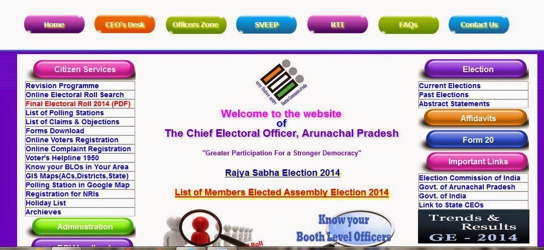 CEO Arunachal Pradesh