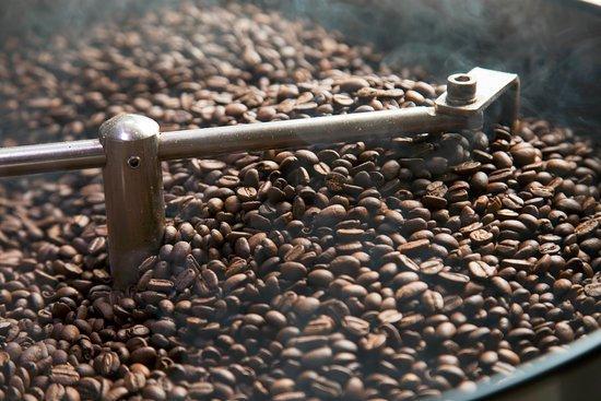 Roasting in the coffee shop - Picture of Toarco Toraja Coffee, Makassar -  Tripadvisor