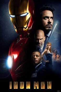 Image result for iron man movie poster