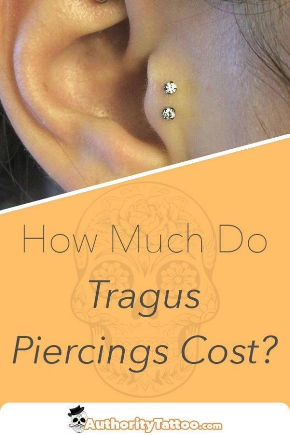 tragus piercing cost