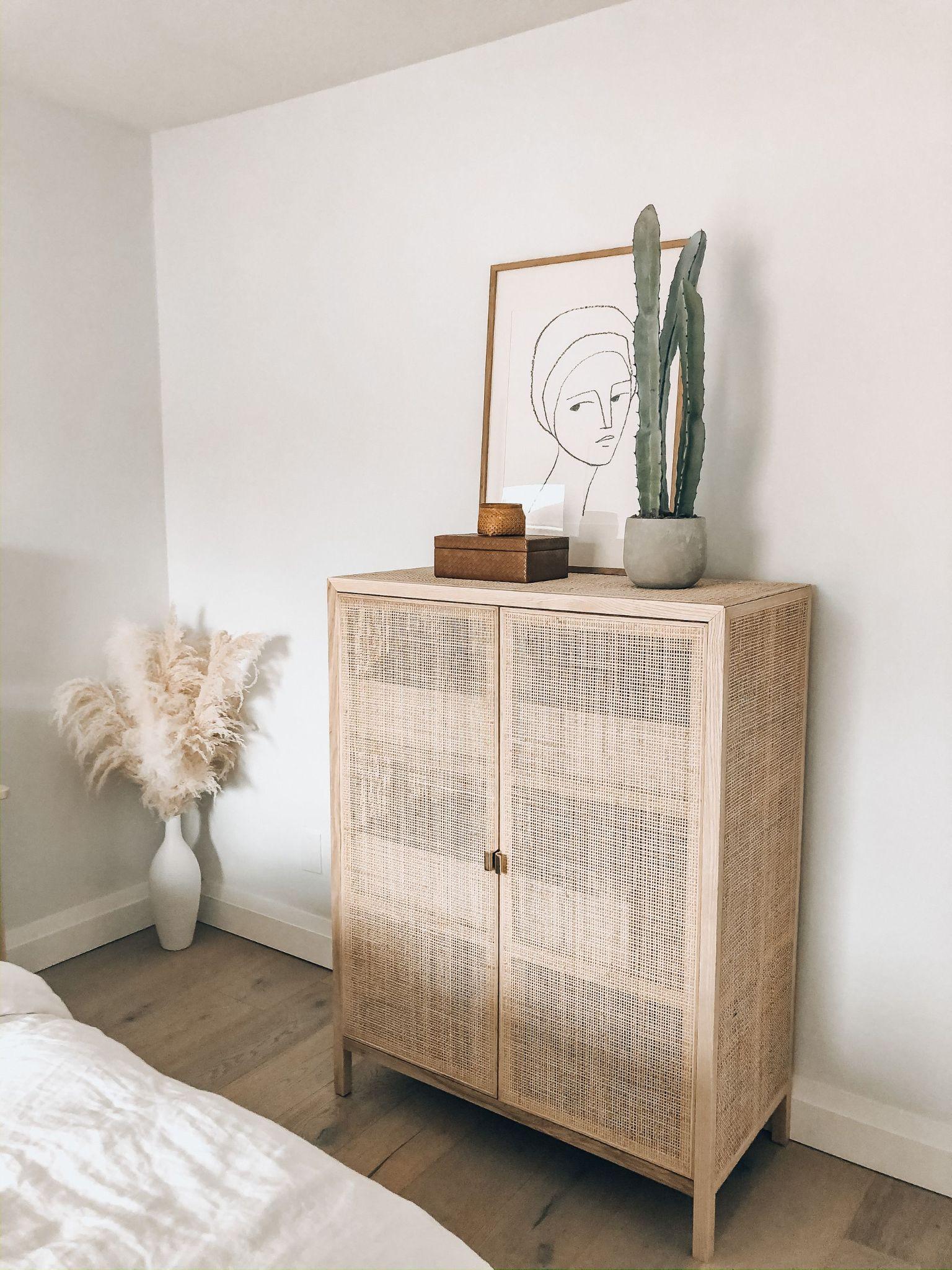 Best Rattan Dresser Decor Ideas