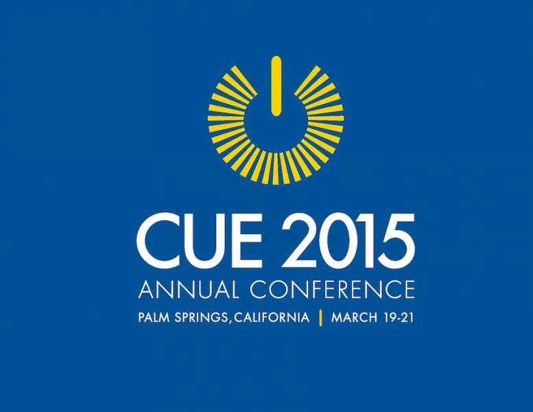 CUE 2015 Annual Conference logo