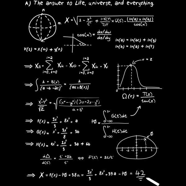 resposta para a vida, o universo e tudo mais: 42