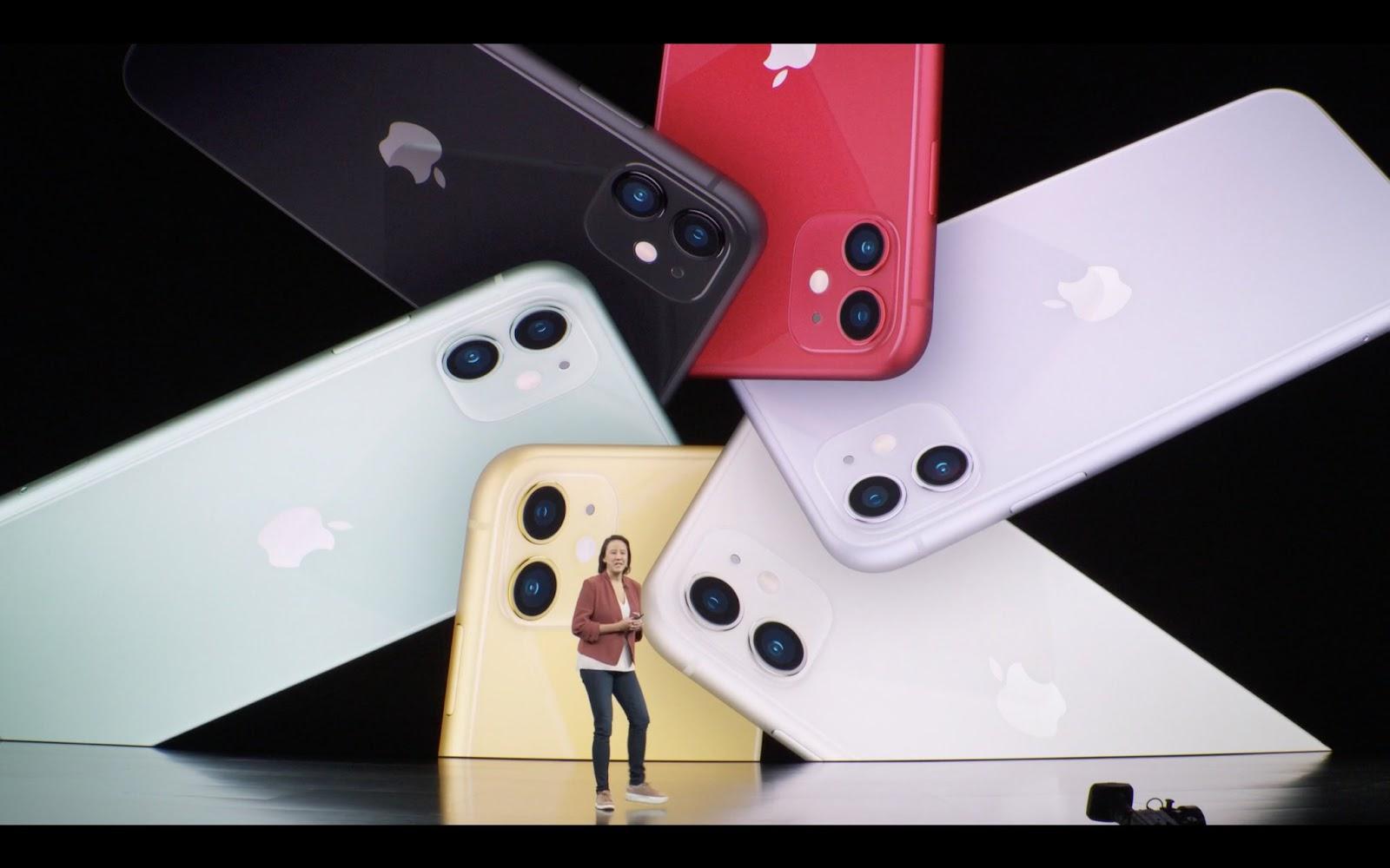 Sforum - Trang thông tin công nghệ mới nhất iPhone-11-ra-mat Bộ ba iPhone 11 ra mắt: Tên gọi/màu sắc mới, camera vuông, kèm sạc nhanh, giá từ 699 USD