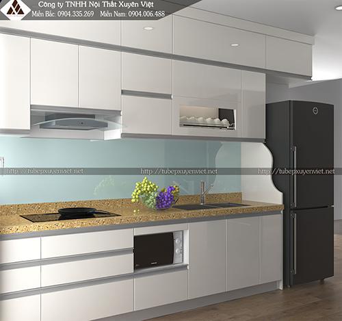 Tủ bếp Acrylic và những điều bạn cần quan tâm hình 1