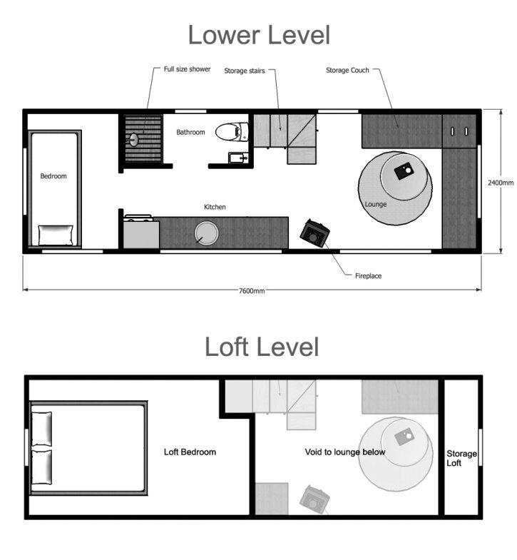 Tiny House For Families Floor Plans And Design Ideas