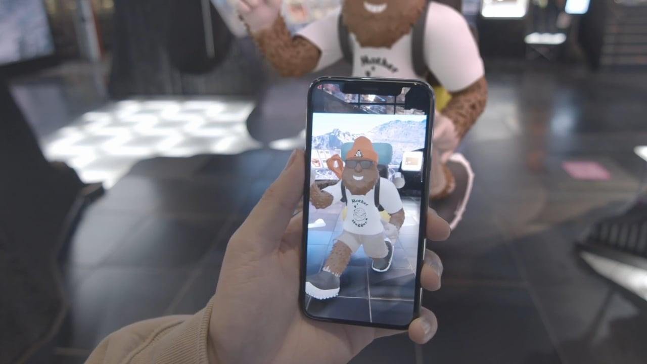 Nike AR Adventure Experience Innovation Hub