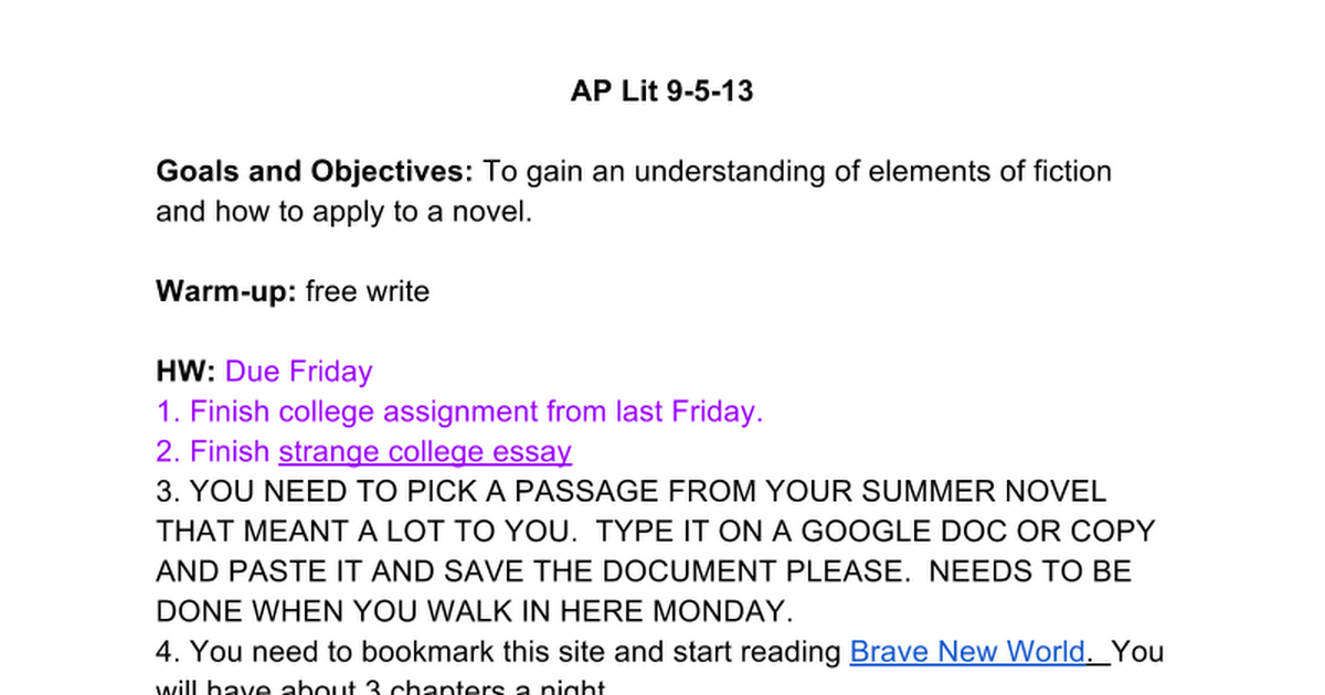 ap lit lullaby essay Ap literature - mr alexander search this site home x ap lit exam resources another lullaby for insomniacs.