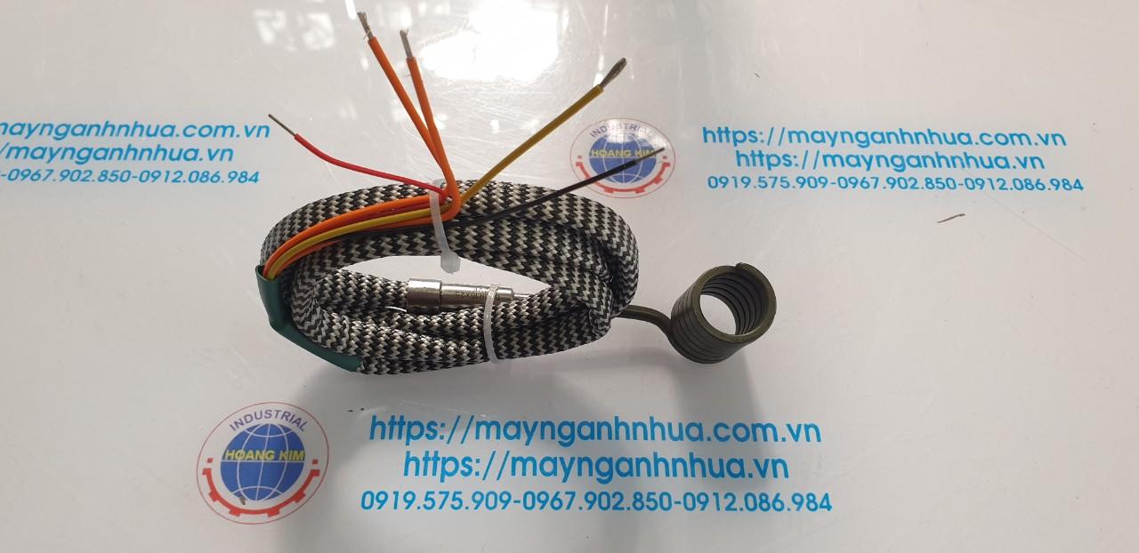 Điện trở lò xo đầu khuôn máy ép nhựa, phi 16 dài 150mm