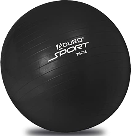 Aduro Sport Yoga Exercise Ball, 55/65/75cm Workout Fitness Ball Chair with Anti-Burst Non-Slip Surface