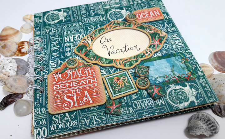Vacation Notebook, Einat Kessler, Voyage beneath the Sea, product by Graphic 45, photo 6.jpg
