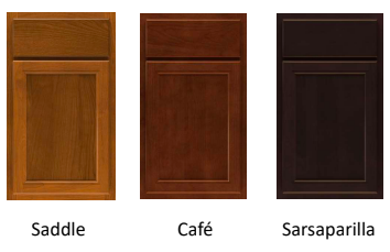 types of wood stain colors to choose from