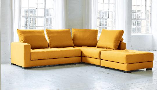 Hãy sẵn sàng cho mùa hè với một chiếc ghế sofa màu vàng