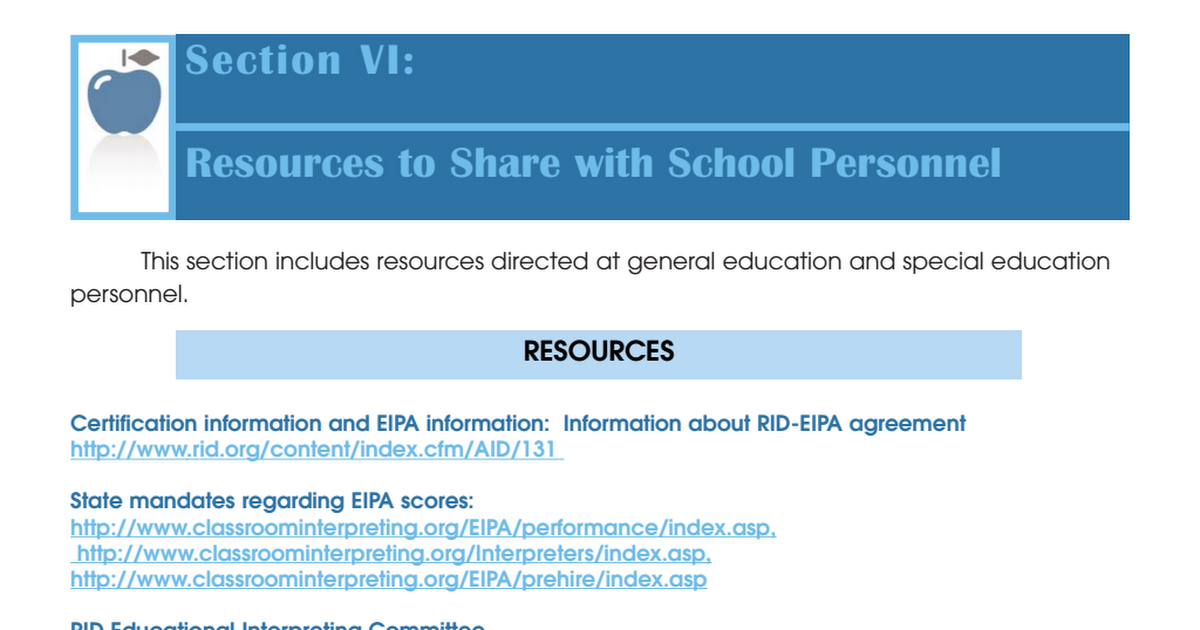 Sectionviresourcesschoolpersonnelpdf Google Drive
