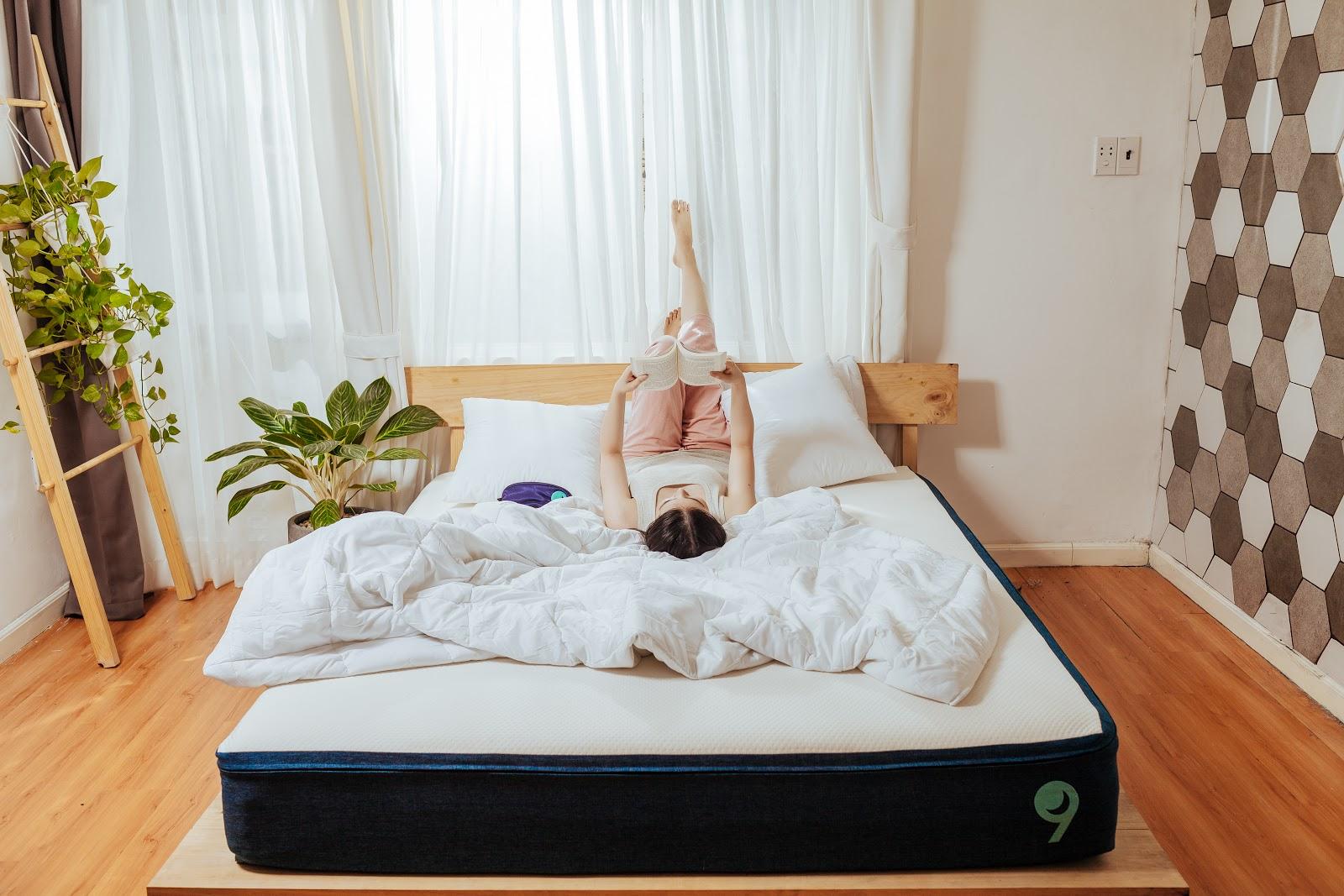 Bí quyết ngủ ngon với nệm Ru9