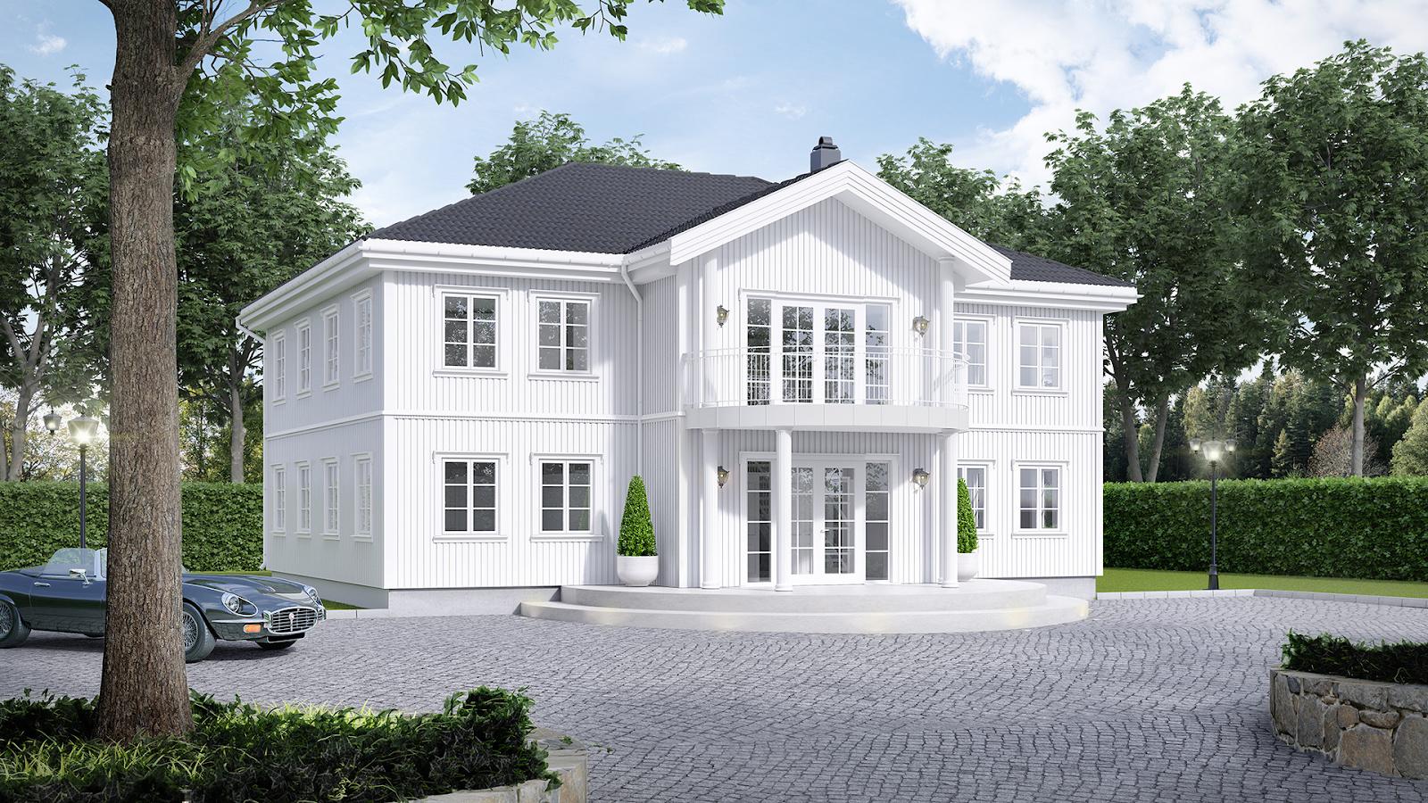 Herskapelig og tradisjonelt hus, byggefirma Askøy, bygg hus med det beste byggefirmaet i Askøy